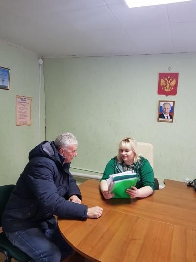 01 февраля  провела личный приём  граждан глава Пыховского сельского поселения Л.И.Чувильская