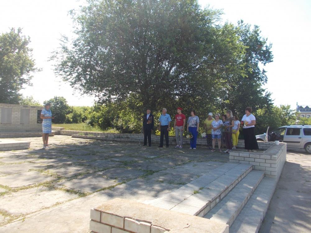 Вахта памяти и скорби погибшим в годы Великой Отечественной войны