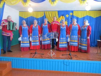 Концерт к 8 Марта прошел в хуторе Индычий