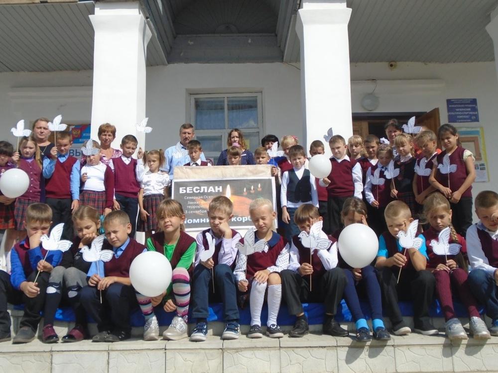 3 сентября  в Акчернском доме культуры прошел митинг  Памяти, посвященный Дню солидарности в борьбе терроризмом.
