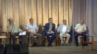 Терновская делегация  познакомилась с предвыборными программами выдвиженцев в губернаторы Воронежской области