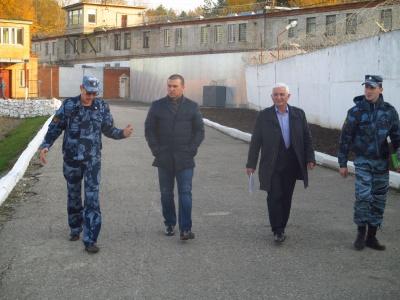 Глава Поселковой Управы Дроздов Н.А. посетил ФКУ ИК-2