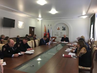 6 февраля  2018 года в администрации района состоялось заседание рабочей группы по оказанию содействия избирательным комиссиям в организации подготовки и  проведения выборов Президента Российской Федерации