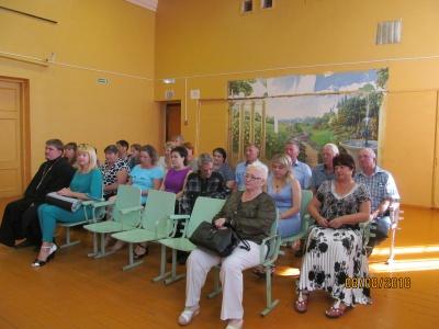 8 августа состоялась встреча с жителями  Дзержинского сельского поселения