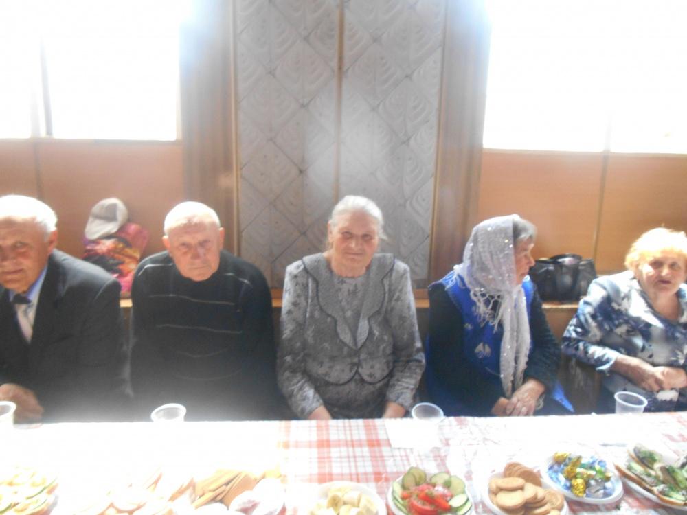 Встреча главы Каширского сельского поселения с тружиниками тыла и детьми войны