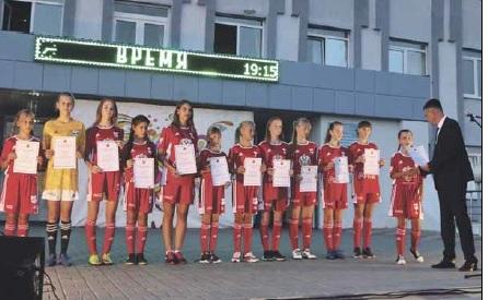 Терновские спортсмены получили заслуженные награды