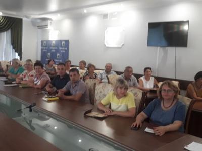7 августа 2018 года работники педагогической сферы Каширского района приняли участие в открытом онлайн-совещании «Контуры национального проекта в сфере образования»