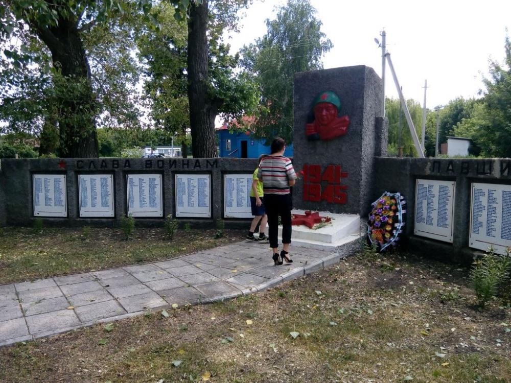 В с. Никольское прошел митинг, посвященный «Дню памяти и скорби».