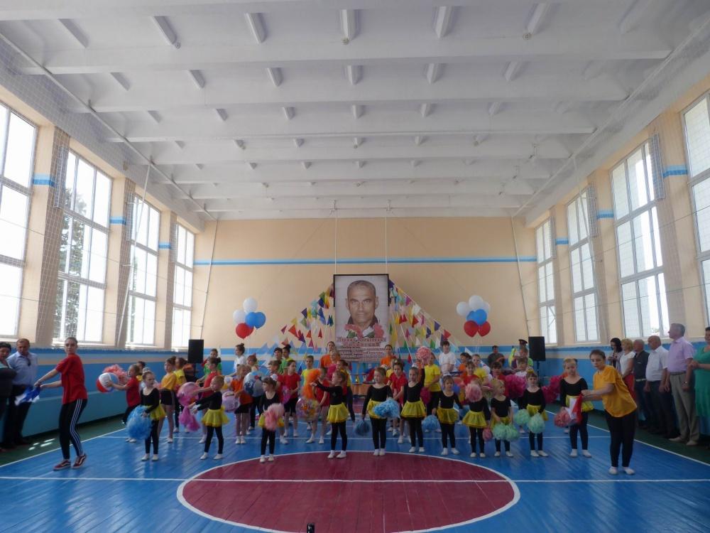18 мая 2019 года в Муниципальном учреждении «Сельский Дом Культуры станицы Камышеватской» состоялось торжественное открытие спортивного зала после капитального ремонта,