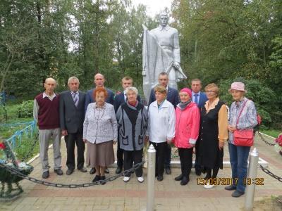 15.09.17 г. торжественный митинг посвященный дню освобождения Калужской области от немецко-фашистских захватчиков