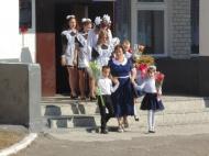 1 сентября МКОУ Дерезовская СОШ имени Героя Советского Союза Василия Прокатова приняла шесть первоклассников в свои ряды.