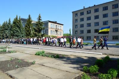 Митинг в п.Верхнеозерский