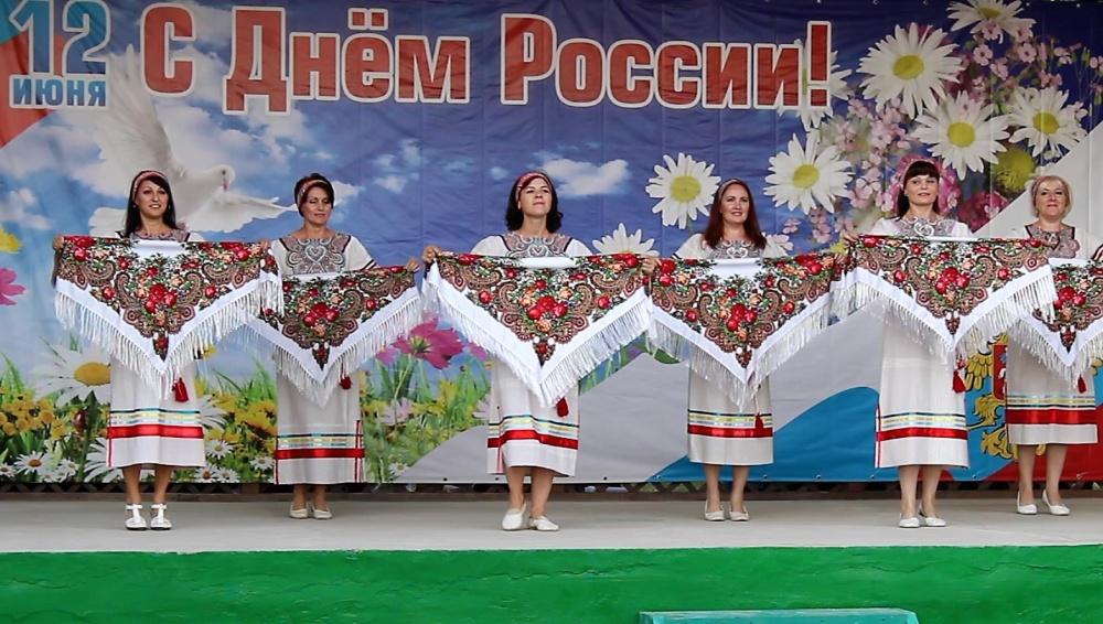 День России в Ольховке
