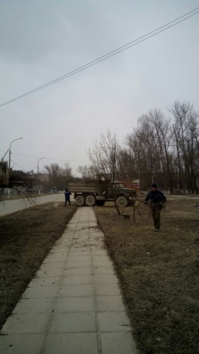 30.03.17 г. мероприятия по благоустройству п. Товарково