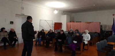 Встреча с руководителями ТОС поселка Коммунар