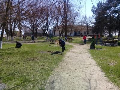 В Камышеватском сельском поселении продолжается Всекубанский субботник