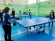 4 декабря в спортзале «Юность» прошли соревнования по настольному теннису