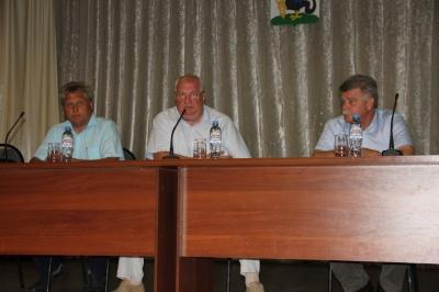 28 августа состоялась встреча с жителями Каширского сельского поселения