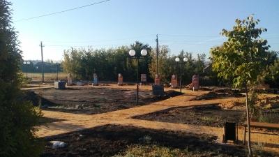 Основные работы по строительству Сквера Комсомольской Славы выполнены