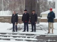 В дни освобождения Хохольского района от немецко-фашистских захватчиков в селе Гремячье состоялось мероприятие