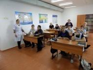 В МБОУ СОШ №12 станицы Новониколаевской прошел Видеолекторий с обсуждением видеоролика «Тайна едкого дыма».