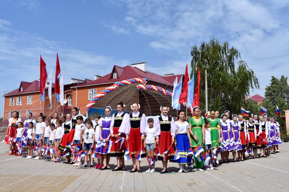 Праздничные мероприятия, посвящённые празднованию Дня России