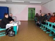 Встреча главы администрации МО Новольвовское  Винокуровой Г.В. с жителями с. Таболо
