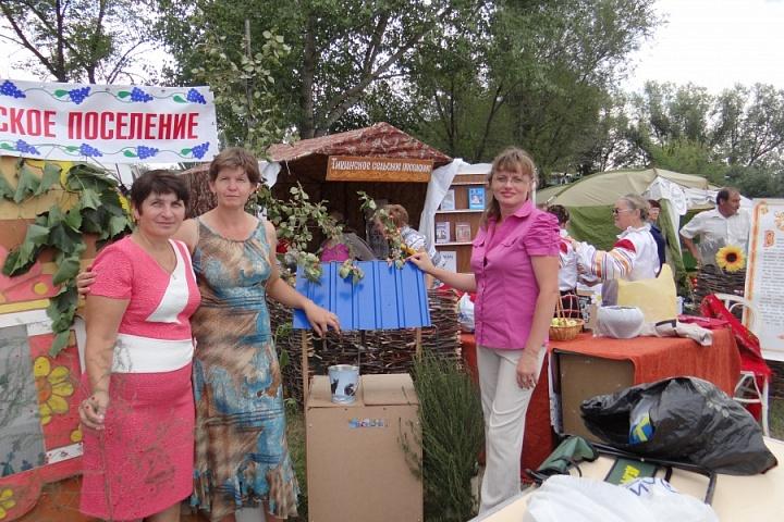ярмарка в Таловой