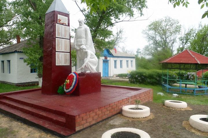 Памятник Воинам с. Андреевка