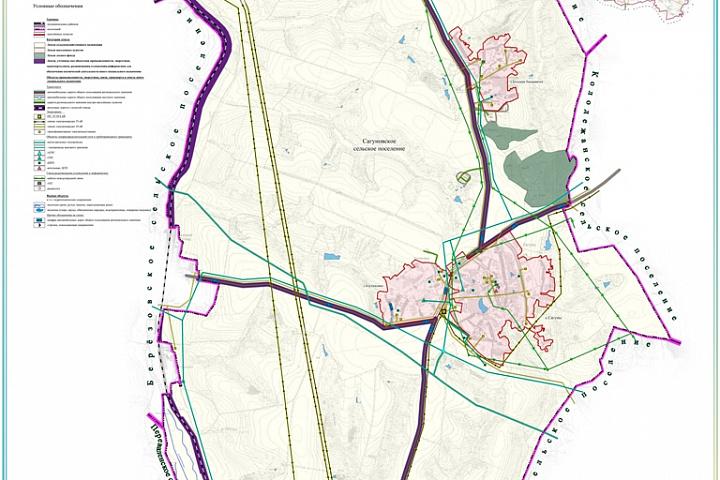 Сагуновское СП Категории земель