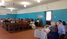 Встреча Пономарева А.И. с жителями Старинского сельского поселения