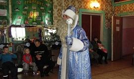 9 января Вот и Дед Мороз