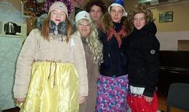 Новогодние праздники в Верхнесъезженском СДК 2019г