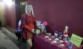 12 января. Благотворительный Рождественский бал в ГДК. Участие в выставке-продаже Ерыгиной Н.А.