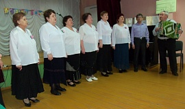 День защитника Отечества в Верхнесъезженском СДК