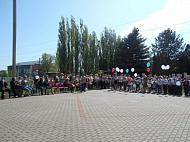 В сельском поселении Крутовский сельсовет Добровского муниципального района Липецкой области прошел праздник 74-ой годовщины Победы в ВОВ.