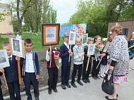 9 мая в центре села прошел митинг, посвященный дню Победы