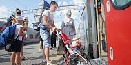 Многодетным семьям предоставляется скидка 20 % на проезд в поездах дальнего следования