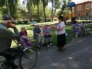 Винокурова Галина Витальевна  провела встречу с жителями  п. Новольвовск