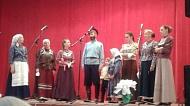 Встреча в СДК участника фестиваля «Песни над Доном» народного коллектива «Луганцы».