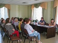 Главы поселения встретились со старостами и председателями ТОСов