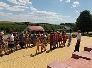 22 июня 2019 г. на территории памятника с. Стадница состоялся митинг и церемония изъятия земли «Горсть Памяти»