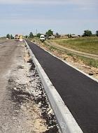 Продолжаются работы по обустройству тротуара в с. Пыховка по улице Советской. Здесь появится 1,971 км. стоимостью 5,757 млн рублей.