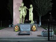 Освещение мемориала «Прощание с солдатом»