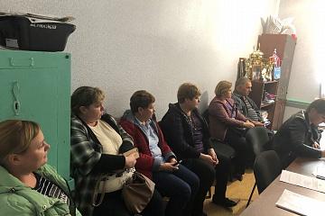 Сессия Совета Куйбышевского сельского поселения  Калининского района.