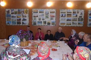 1 октября в Акчернском сельском поселении отмечали День пожилого человека.