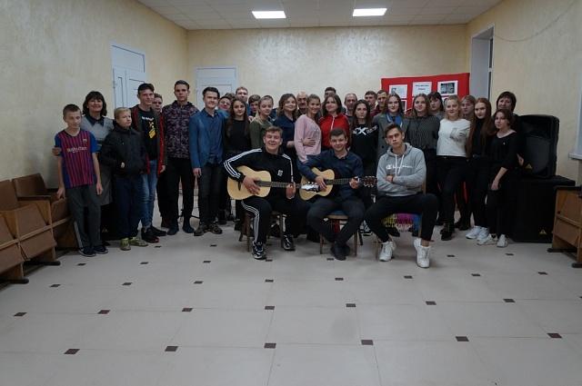 Встреча любителей игры на гитаре