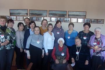 25 ноября в библиотеке прошла встреча посвященная дню Матери