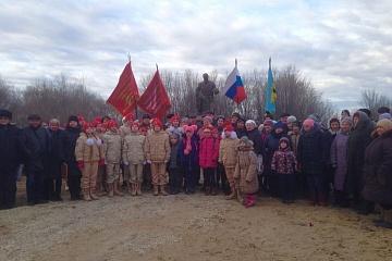 29.11.2019г. в с.Никольское состоялось открытие памятника павшим воинам ВОВ в с.Никольское