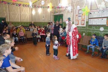 В Вознесеновском сельском доме культуре  был организован новогодний утренник для детей